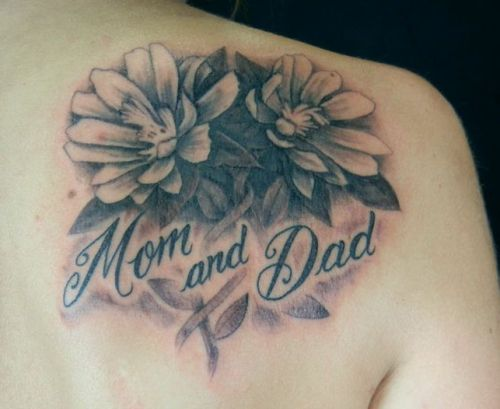 8 Best Mom And Dad Tattoo Designs Styles At Life