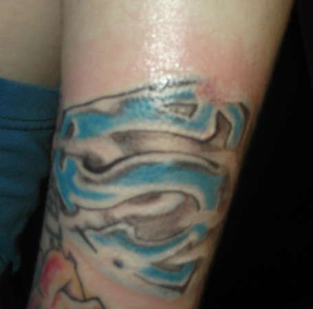 Superman Tattoo 4
