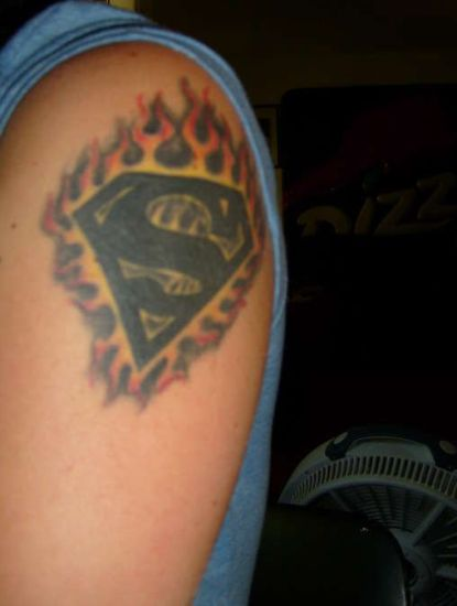Superman Tattoo 7
