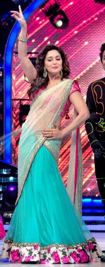 The half saree