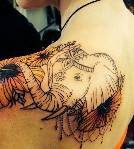 top-9-elephant-tattoo-designs14