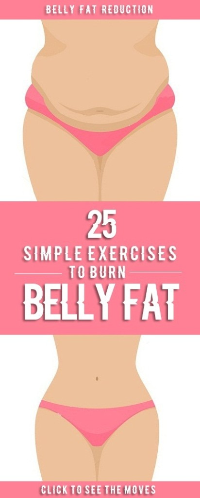 belly fat reduction exercises