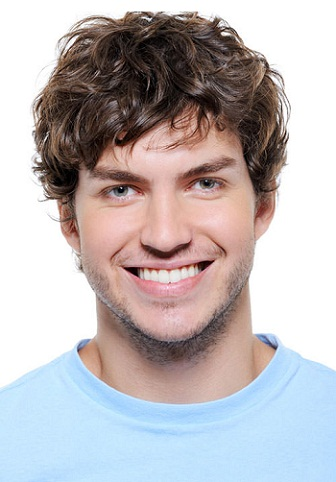 simple Curly hairstyle for Boys