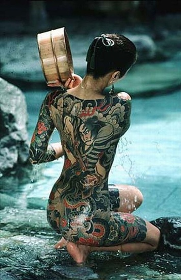 Asian Samurai tattoo