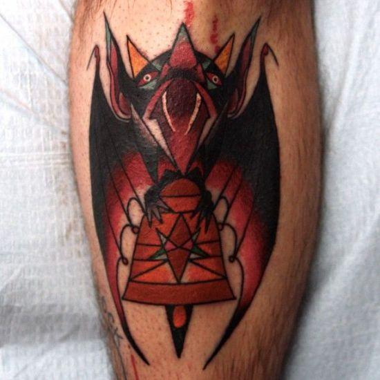 Bat Tattoo 1