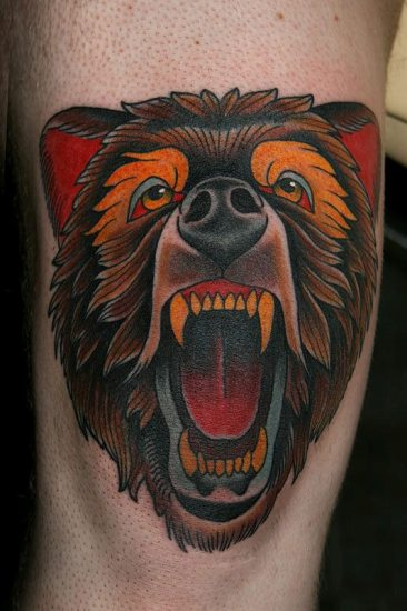 Bear Tattoo 7