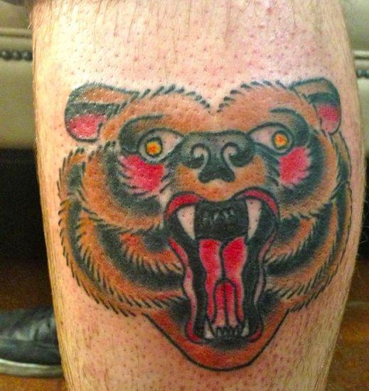 bear tattoo designs