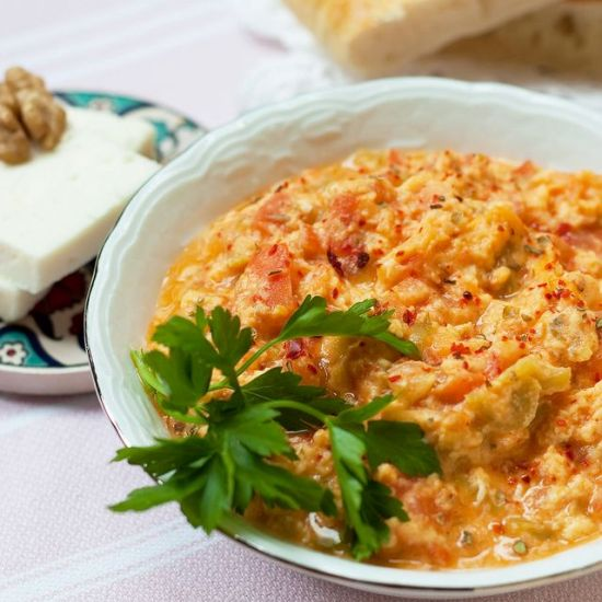 Classic Turkish menemen