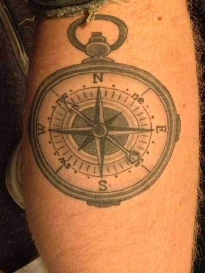 Compass Tattoo 3