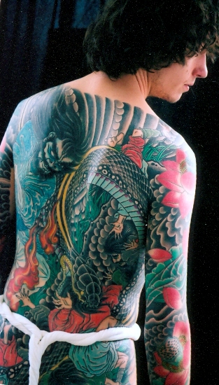 Creative Asian tattoo