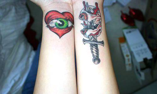Dagger Tattoo 2