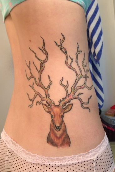 Deer Tattoo 4