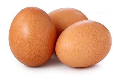Diet Chart for Weight Gain - Eggs