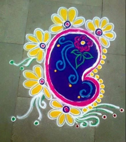 Everyday Rangoli Design
