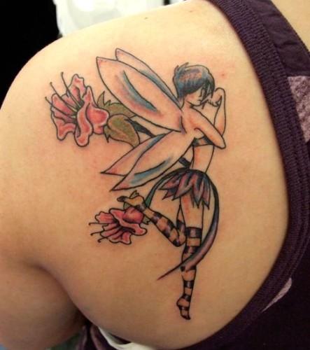 Fun angel Tattoo