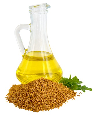 How to Remove Pimples-Mustard oil