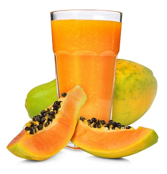 How to Remove Pimples--Papaya juice