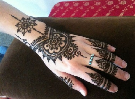 Isolated Mehndi Designs