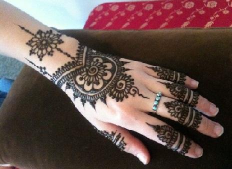 Isolated Mehndi Designs
