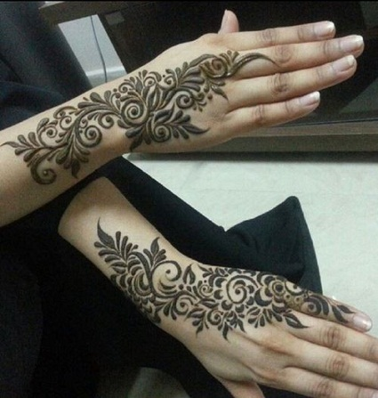 Leaves and Flowers MEHNDI