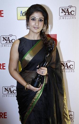 Nayanthara in Black Saree