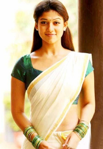 Amazing Pictures Of Nayanthara In Saree Unseen Looks