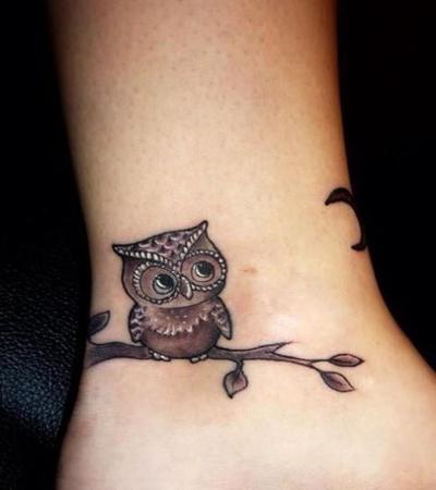 Owl hoot Tattoo