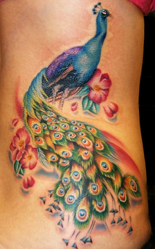 Peacock in disguise Tattoo