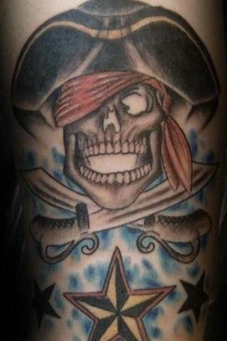 Pirate Tattoo Designs5
