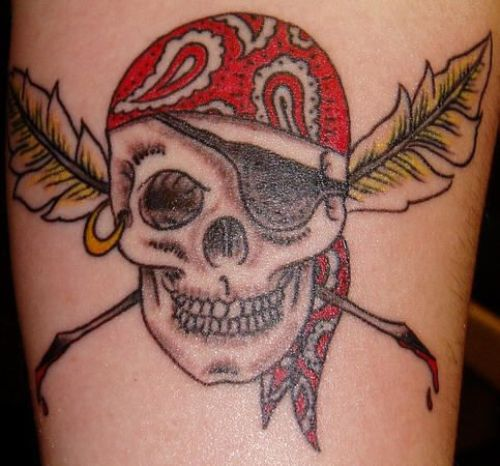 Pirate Tattoo Designs7