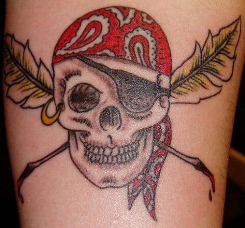 Pirate Tattoo Designs7
