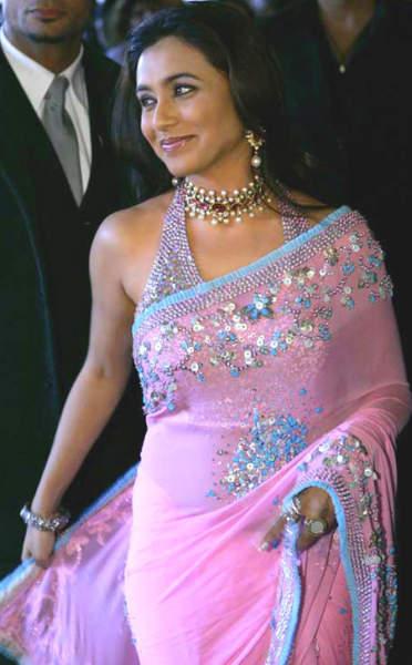Rani in pink