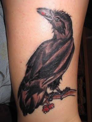 Raven Tattoo Designs2