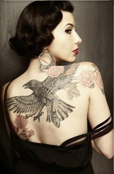 Raven Tattoo Designs5