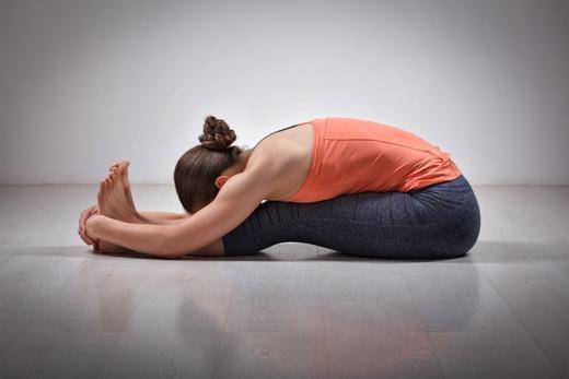 seated yoga asana