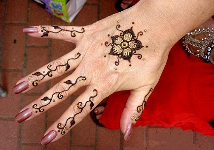 Mehndi Art Simple : Simple and easy mehndi designs for beginners with images