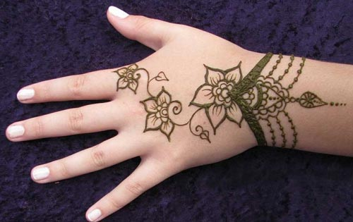 simple mehendi design