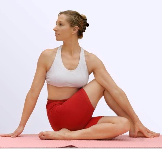 Sitting Spinal Twist