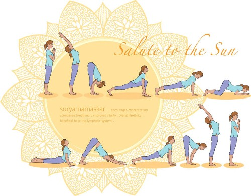 Sun salutation power
