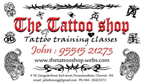 Tattoo design places in chennai9