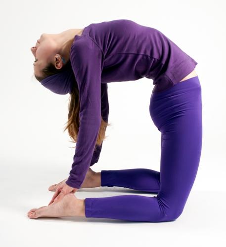 The Camel Pose yoga