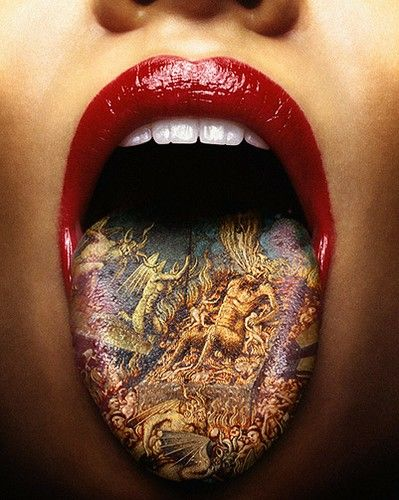 Tongue Tattoo Designs8