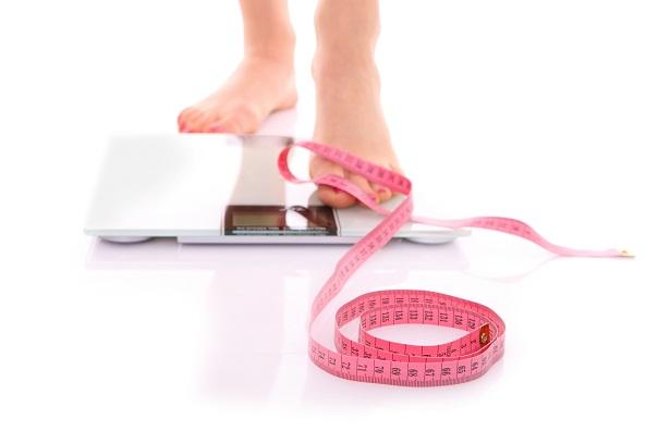 dash diet scale weight