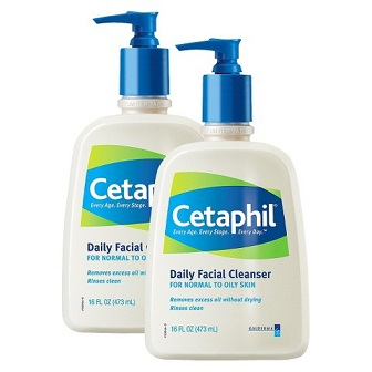 how to remove pimples-Cetaphil Cleanser