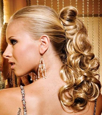 ponytails for prom1