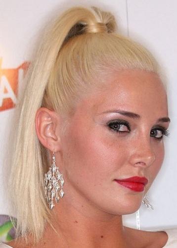 ponytails for prom4