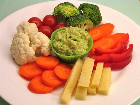 raw vegetables diet for fatty liver