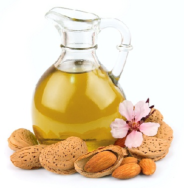 Almond oil for gray