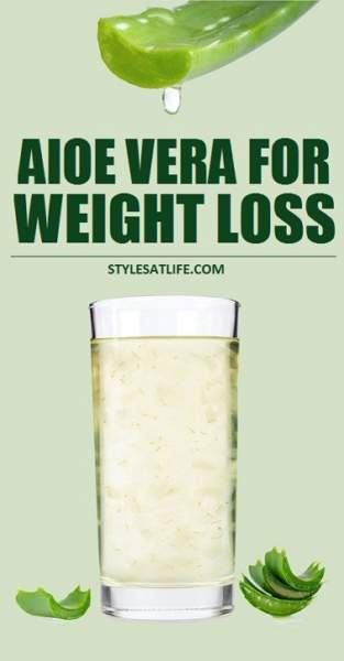 Aloe Vera Juice For Weight Loss