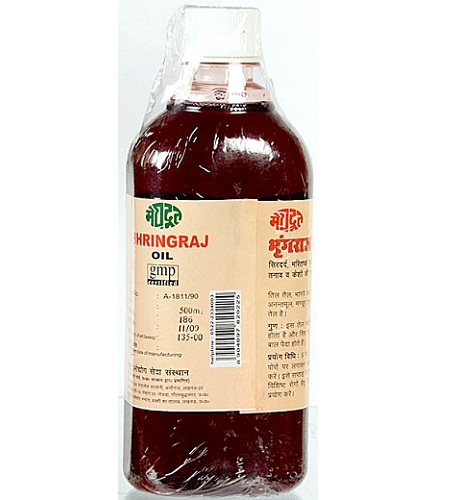 Ayurvedic Oils To Prevent Hair Fall - Bhringraj Oil